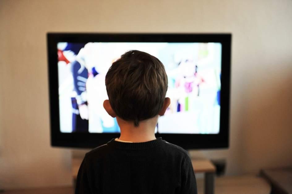 obesidad infantil y television