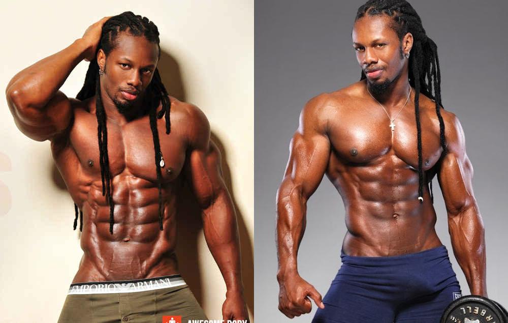 Las mejores fotos del modelo de fitness Ulisses Jr desnudo