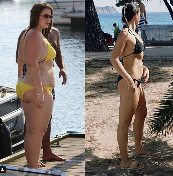 """Pierde 45 kilos con la dieta FAST: """"gracias a los que se burlaron de mi"""""""