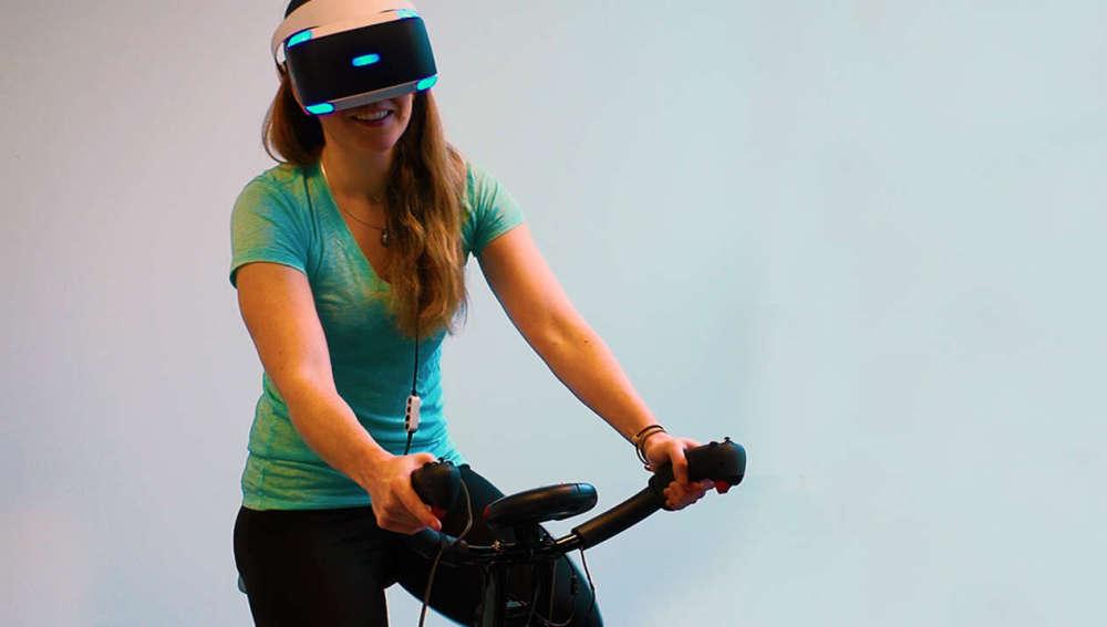 La realidad virtual llevará el spinning a otro nivel