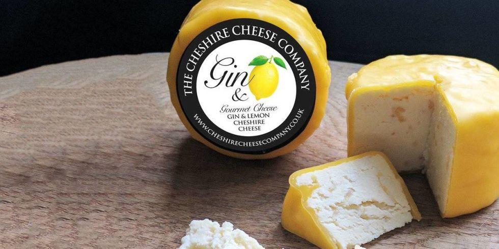 Inventan el queso con sabor a ginebra