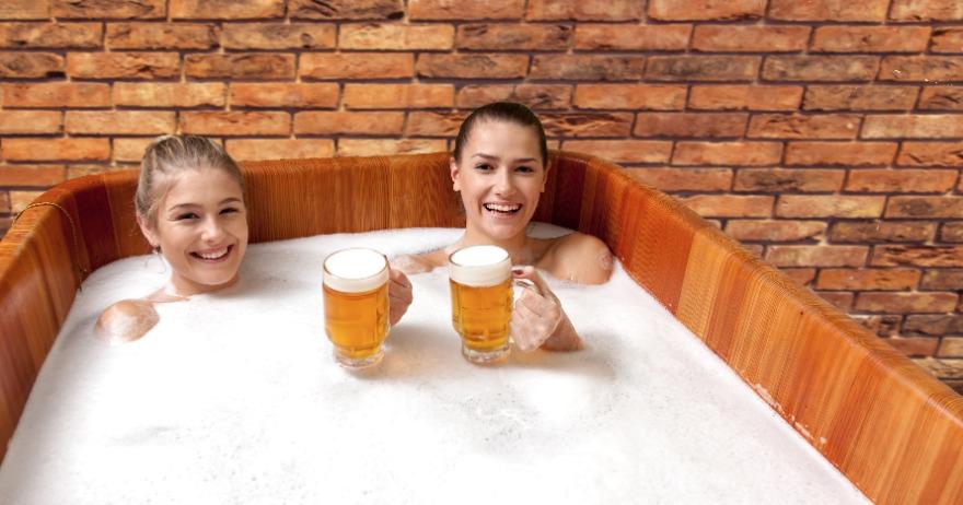Abre en España el primer spa de cerveza