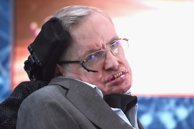 conferencia Stephen Hawking depresion