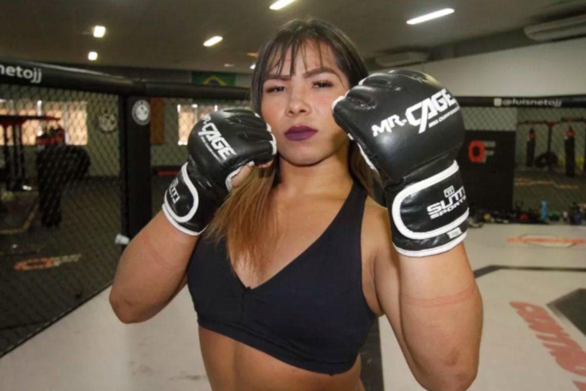 Esta luchadora transexual hará historia peleando contra un hombre