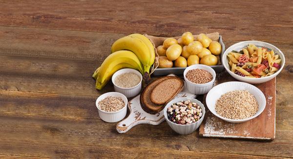 ¿Cuáles son los alimentos con hidratos de carbono?