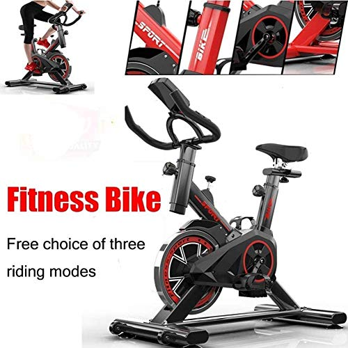 Dnyker Professional Exercise Bike,Home Fitness Bike for Weight Loss,with LCD Monitor,Comfortable Seat Cushion,Indoor Silent Fitness Equipment Indoor Fitness
