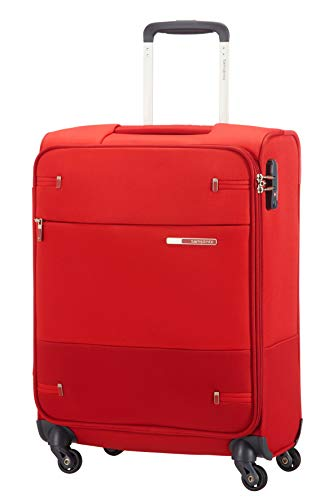 Samsonite Base Boost Spinner S Equipaje de mano, 55 cm, 39 L, Ancho: 40 cm, Rojo (Red)
