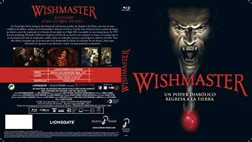 Wishmaster [Blu-ray]