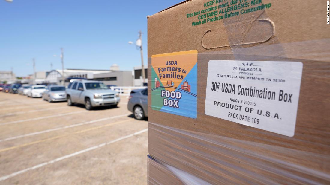 El gobierno de Biden da por terminado el programa de cajas de alimentos para la pandemia de Trump