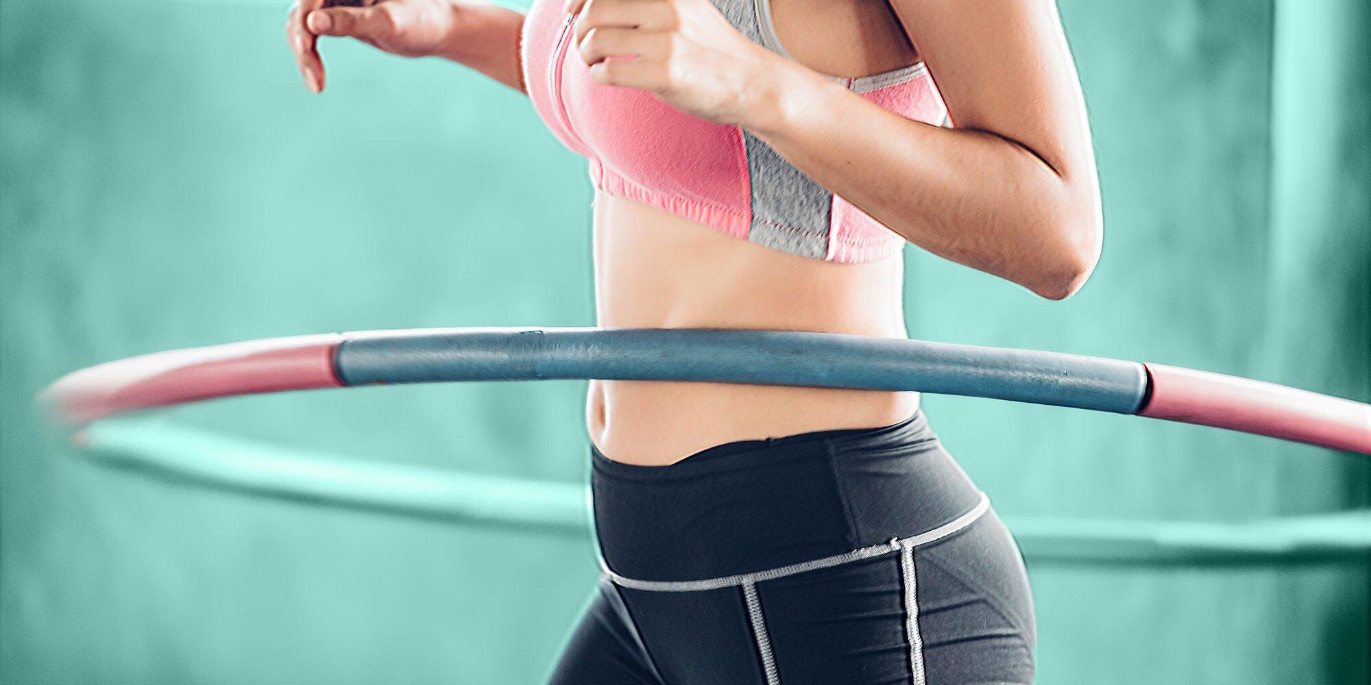 Por qué tienes que entrar en la tendencia de los ejercicios con aros de hula.